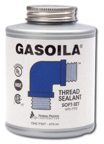 Gasoila Soft-Set Pipe Thread Sealant with PTFE Paste Non Toxic -100 to 600 De... - Chickadee Solutions