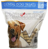 Checkups- Dental Dog Treats 24ct 48 oz. for dogs 20+ pounds Medium - Chickadee Solutions - 1