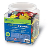 Learning Resources Doublesix Dominoes In Bucket - Chickadee Solutions - 1