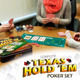 Excalibur Texas Hold'Em Poker Set - XC598IRE - Chickadee Solutions