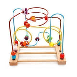 Kaylee & Ryan Circle Bead Maze Wooden Toys for Kids - Chickadee Solutions - 1