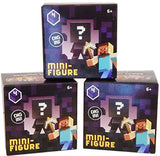 Minecraft Mystery Mini-Figure Series 4 Obsidian (Set of 3 Boxes) - Chickadee Solutions