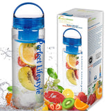 iPerfect Lifestyle Infuser Water Bottle - Made with Commercial Grade Tritan -... - Chickadee Solutions - 1