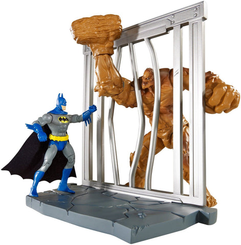 DC Comics Multiverse 4-Inch Classic Comic Skin Batman and Clayface Figure 2-P... - Chickadee Solutions - 1