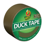 Duck Brand 241340 Color Duct Tape Olive Matte Finish 1.88 Inches x 15 Yards S... - Chickadee Solutions - 1