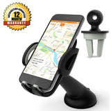 Car Mount Phone Holder Cradle Geekee 3-in-1 Universal Car Phone Mount Air Ven... - Chickadee Solutions - 1
