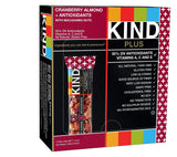 KIND Bars Cranberry Almond + Antioxidants Gluten Free 1.4 Ounce Bars 12 Count - Chickadee Solutions - 1