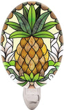Joan Baker Designs NL455R Pineapple Art Glass Night Light 2.75 by 4-Inch - Chickadee Solutions