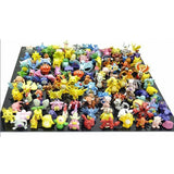 Generic 1 Complete Set Pokemon Action Figures (144 Piece) Multicolor 144pcs - Chickadee Solutions - 1