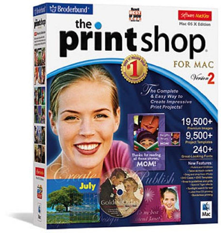 The Print Shop 2 for Mac - Chickadee Solutions - 1