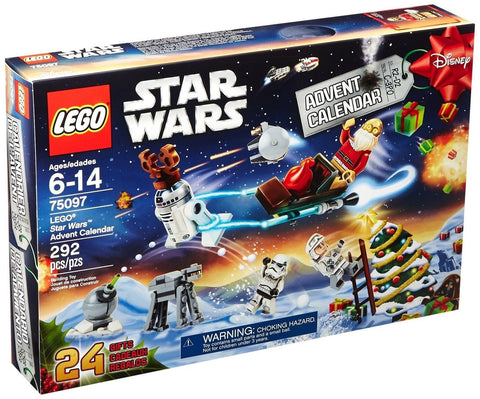 LEGO Star Wars 75097 Advent Calendar Building Kit (Discontinued by manufactur... - Chickadee Solutions - 1