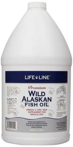 Life Line Wild Alaskan Fish Oil 128-Ounce - Chickadee Solutions - 1
