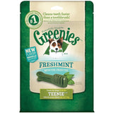 GREENIES Flavors Dental Chews Dog Treats Freshmint Teenie - Chickadee Solutions - 1