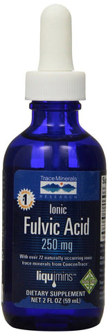Trace Minerals Research IOFA01 - Liquid Ionic Fulvic Acid with Concentrace Su... - Chickadee Solutions - 1
