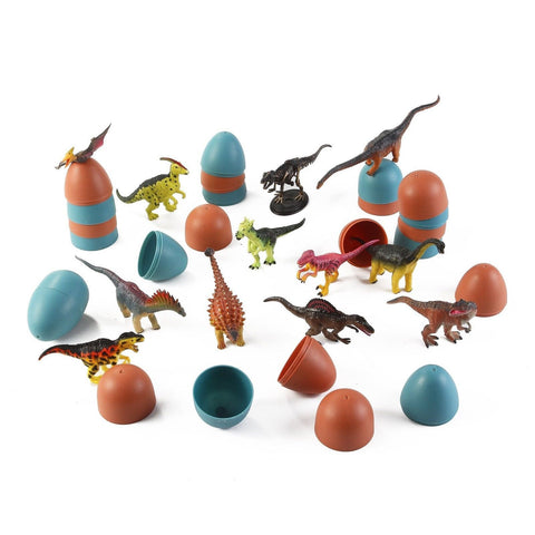 3D Dinosaur Puzzle in Jurassic Egg Educational Assembly Kit (Set of 12) - Chickadee Solutions - 1