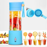 Portable Lightweight Personal Juicer Smoothie Blender Maker (Blue) Blue - Chickadee Solutions - 1