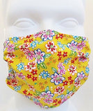 Breathe Healthy Dust Allergy & Flu Mask Mini Flowers Design - Chickadee Solutions - 1