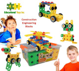 Educational Toys Construction Engineering Blocks By ETI Toys for Boys and Gir... - Chickadee Solutions - 1