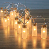 Dailyart - NEW - 8 Modes Vintage Glass Jar LED Fairy Lights With 20 Warm Whit... - Chickadee Solutions - 1