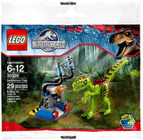 LEGO Jurassic World Gallimimus Trap Set #30320 [Bagged] - Chickadee Solutions