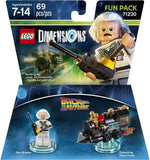 Back to the Future Doc Brown Fun Pack - LEGO Dimensions - Chickadee Solutions - 1