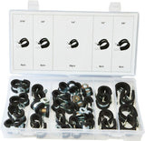 Swordfish 32290 Rubber Insulated Adel Clamp Assortment 42 Piece - Chickadee Solutions
