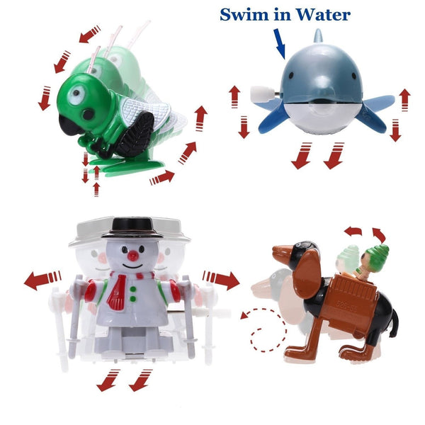 Toys For Kids 7 And Up : Joyin toy pieces assorted wind up toys for kids party