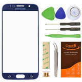 Samsung Galaxy S6 SM-G920 Pebble Blue Replacement Front Outer Lens Glass Scre... - Chickadee Solutions - 1