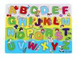 Vidatoy Colorful Alphabet Matching Puzzle 26 Pcs for Kids - Chickadee Solutions - 1