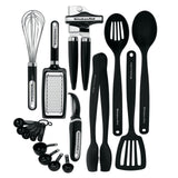 KitchenAid 17-piece Tools and Gadget Set Black 17-Piece Set - Chickadee Solutions - 1