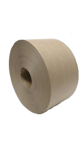 "(Pack of 2 Rolls) 2.75"" X 375' Reinforced Gummed Kraft Paper Tape for Sealing... - Chickadee Solutions - 1"