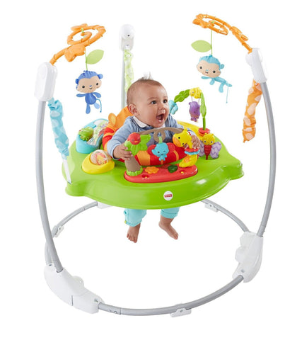 Fisher-Price Jumperoo Roarin' Rainforest Fisher-Price CBV63 - Chickadee Solutions - 1