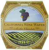 California Wine Wafer Mocha Chocolate 7-Ounce Boxes (Pack of 3) - Chickadee Solutions - 1