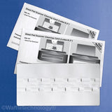 Sheet Fed Scanner Cleaning Card featuring Waffletechnology (15 Sheets) - Chickadee Solutions
