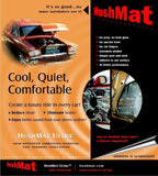 HushMat 10200 Ultra Black Foil Door Kit with Damping Pad - 10 Piece - Chickadee Solutions - 1