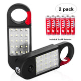 Durapower 2 Pack 20-LED Work Light Set Include 6 AAA Batteries Powerful Magne... - Chickadee Solutions - 1