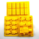 Lovelyou Building Bricks Molds - Building Blocks and Robots - Lego Mold Silic... - Chickadee Solutions - 1