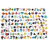 KevenAnna Pokemon Action Figures 144-Piece 2-3 cm - Chickadee Solutions - 1