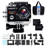Campark 4K 25fps WiFi Ultra HD Waterproof Sports Action CameraSONY SensorTime... - Chickadee Solutions - 1