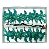 Sea Turtle Party String Lights-Ocean Beach Luau-Assorted Blue and Green Color... - Chickadee Solutions