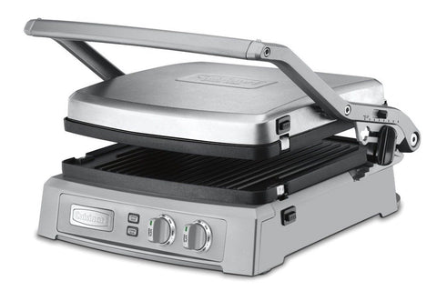 Cuisinart GR-150 Griddler Deluxe Brushed Stainless - Chickadee Solutions - 1