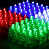 Etekcity 100 Pcs Super Bright LED Finger Lights Light up Toys Party Favor Sup... - Chickadee Solutions - 1