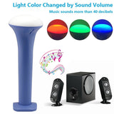 LP LED Flashlight Multi-function Color Changeable By Sound Control Rechargea... - Chickadee Solutions - 1