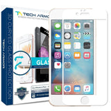 iPhone 6S Plus Screen Protector Tech Armor 3D Curved Edge Glass Apple iPhone ... - Chickadee Solutions - 1