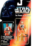 Star Wars: Power of the Force Red Card Luke Skywalker in X-Wing Fighter Pilot... - Chickadee Solutions