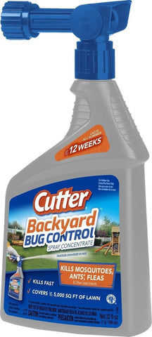 Cutter Backyard Bug Control Spray Concentrate (HG-61067) Case Pack of 1 - Chickadee Solutions - 1