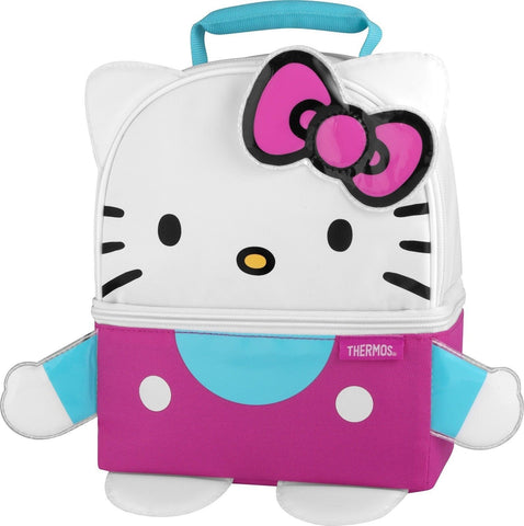 Thermos Novelty Lunch Kit Hello Kitty Figure - Chickadee Solutions