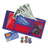 Learning Resources Cash 'N' Carry Wallet - Chickadee Solutions