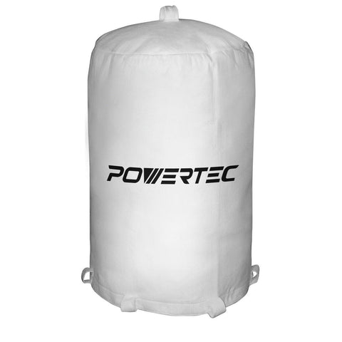 POWERTEC 70001 Dust Collector Bag 20-Inch x 31-Inch 1 Micron POWERTEC - Chickadee Solutions