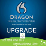 Nuance DMPE-2-U Dragon Medical Practice Edition 2 Upgrade from Medical 10.x o... - Chickadee Solutions